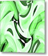 Abstract Waves Painting 0010108 Metal Print