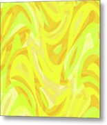 Abstract Waves Painting 0010121 Metal Print