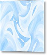 Abstract Waves Painting 007182 Metal Print