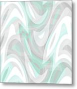 Abstract Waves Painting 007194 Metal Print