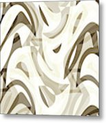 Abstract Waves Painting 007212 Metal Print