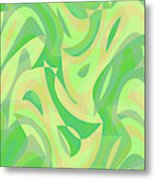 Abstract Waves Painting 007216 Metal Print