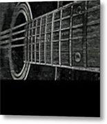 Acoustic Guitar Musician Player Metal Rock Music Strings Metal Print
