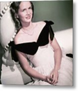 Actress Debbie Reynolds Metal Print