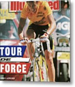 Adr Agrigel Greg Lemond, 1989 Tour De France Sports Illustrated Cover Metal Print