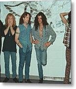 Aerosmith Backstage Portrait Metal Print