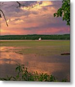 After A June Thunderstorm II Metal Print