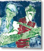 After Billy Childish Painting Otd 33 Metal Print