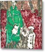 After Billy Childish Painting Otd 45 Metal Print