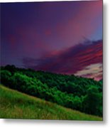 After The Storm Afterglow Metal Print