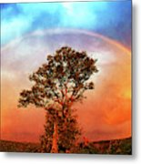 After The Storm, California Foothills                        Metal Print