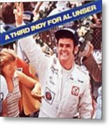 Al Unser, 1978 Indy 500 Sports Illustrated Cover Metal Print
