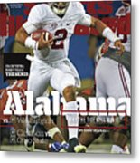 Alabama Why The Tide Will Win It, 2016 College Football Sports Illustrated Cover Metal Print
