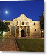 Alamo Mission, San Antonio, A Famous Metal Print