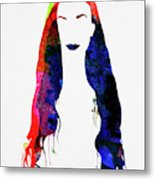 Alanis Watercolor II Metal Print