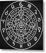 Alchemical Sigil Metal Print