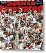 All Caps Washington Capitals, 2018 Nhl Stanley Cup Champions Sports Illustrated Cover Metal Print