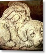 All Dogs Are Angels Metal Print