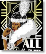 All Dolled Up Metal Print