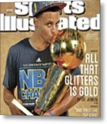 All That Glitters Is Gold Sports Illustrated Cover Metal Print