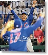 All The Way Chicago Has A New G.o.a.t. Sports Illustrated Cover Metal Print