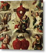Allegory Of The Holy Eucharist Metal Print