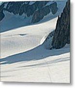 Alps Mont Blanc Vall&233e Blanche Metal Print