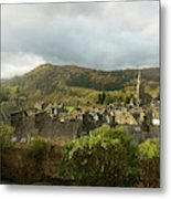 Ambleside Rooftops In The Lake District National Park Metal Print