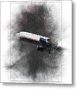 American Airlines Boeing 767-200 Painting Metal Print
