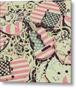 Americana Audio Metal Print