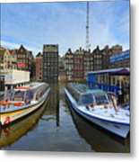 Amsterdam Central Metal Print