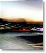 An Early Morning Blur Metal Print