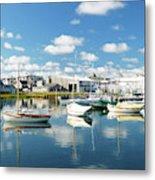 An Idyllic Boating Day Metal Print