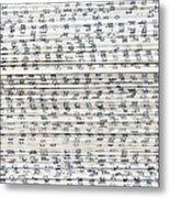 Ancient Paper Book Metal Print