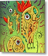 Ancient Spirit Metal Print
