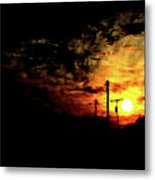 And On The Eighth Day Metal Print