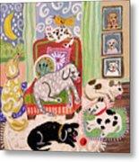 Animal Family 1 Metal Print