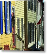 Annapolis Row Metal Print