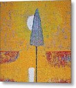 Another Day At The Office Original Painting Metal Print