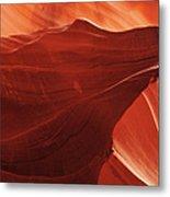 Antelope Canyon Detail Metal Print