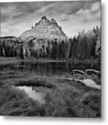 Antorno Lake II Metal Print