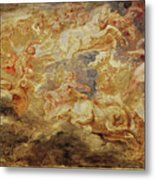 Apollo In The Chariot Of The Sun             Metal Print