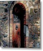 Appia Antica Porta Metal Print
