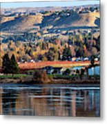 Apple Country Along The Columbia River Metal Print