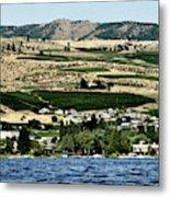 Apple Farming On The Hills Of Wenatchee Metal Print