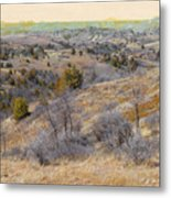 April Prairie Reverie Metal Print