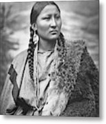 Arapahoe Woman Metal Print