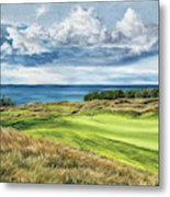 Arcadia Bluffs Metal Print