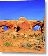 Arches Moon Eye Metal Print