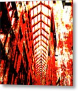 Architecture Interior 2 Metal Print